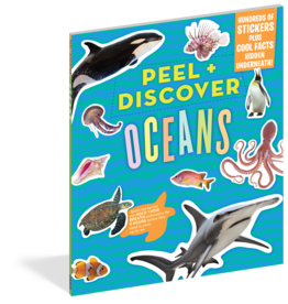 Workman Publishing Peel + Discover: Oceans