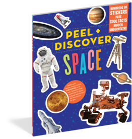 Workman Publishing Peel + Discover: Space