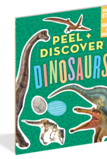Workman Publishing Peel + Discover: Dinosaurs