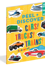 Workman Publishing Peel + Discover: Cars! Trucks! Trains!