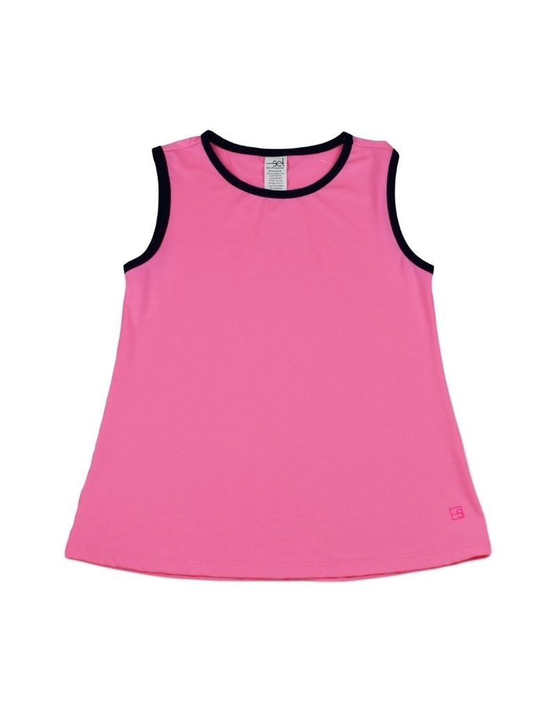 Set Athleisure Tori Tank Pink/Navy