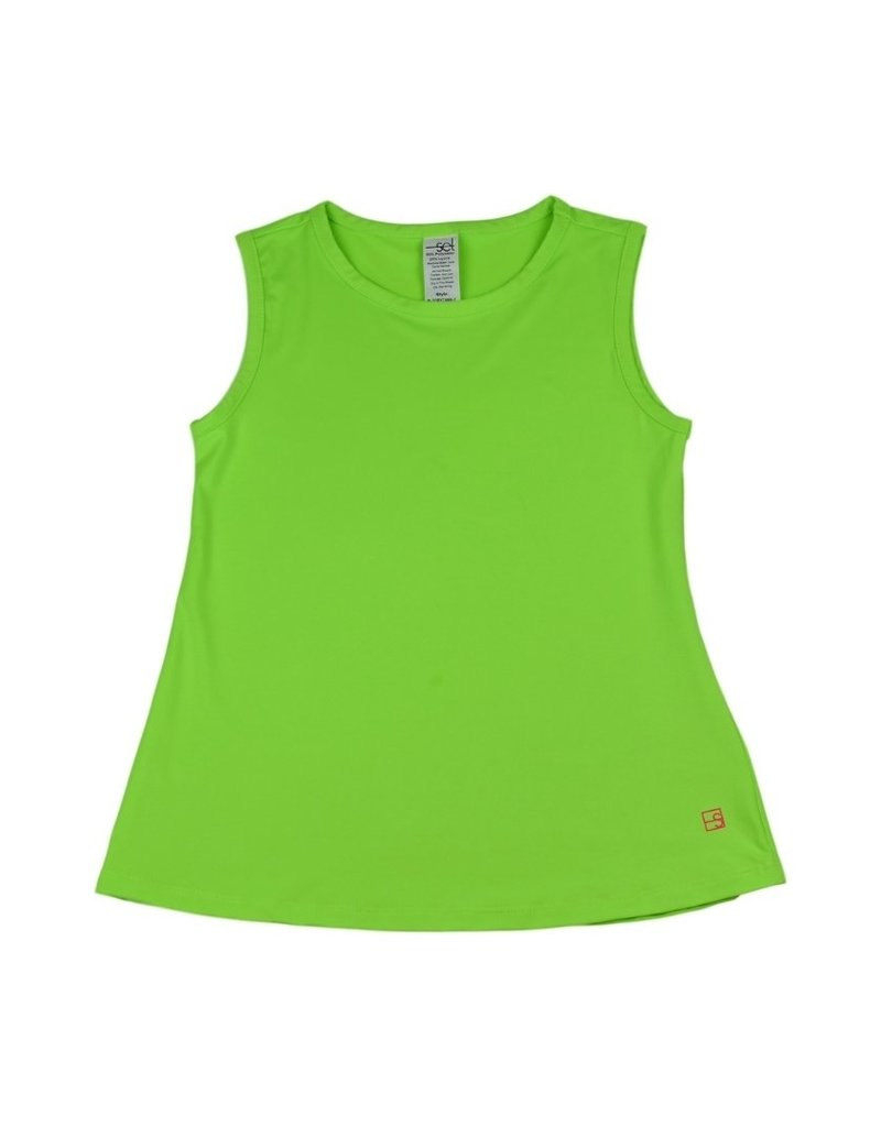 Set Athleisure Tori Tank Green
