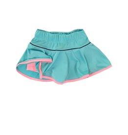 Set Athleisure Quinn Skort Turq/Pink/Navy