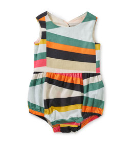 Tea Collection Peekaboo Back Baby Romper 0/3M-18/24M