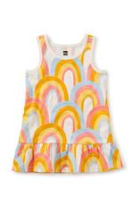 Tea Collection Tank Dress Rainbows