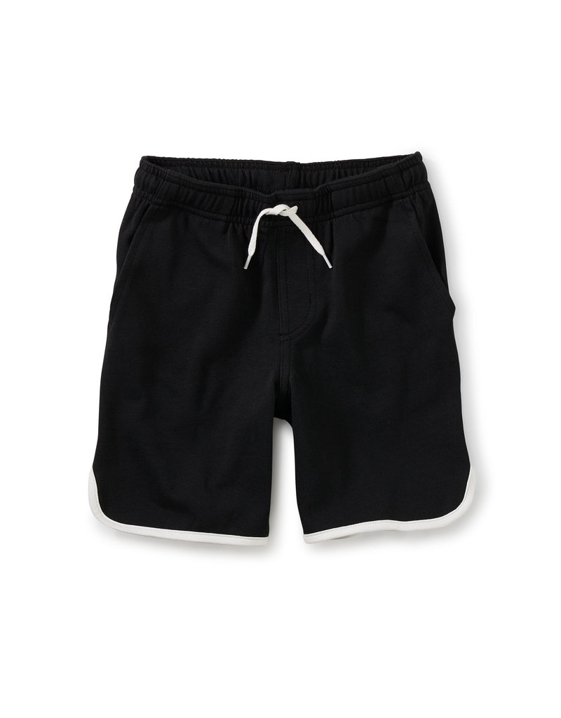 Tea Collection Ringer Shorts Jet Black