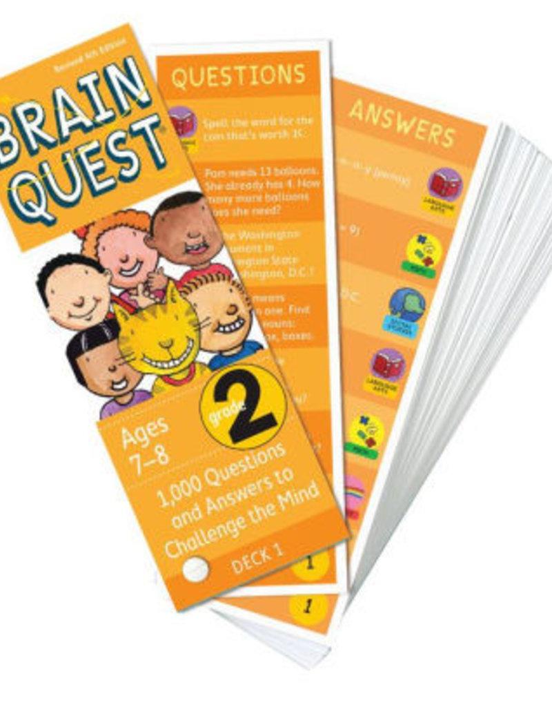 Workman Publishing Brain Quest: Grade 2 Rev. 4Th Ed.