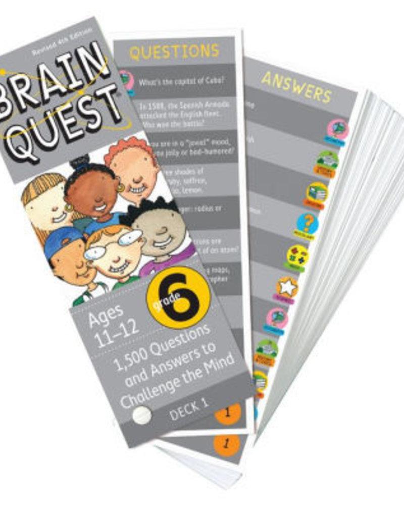 Workman Publishing Brain Quest: Grade 6  Rev. 4Th Ed.