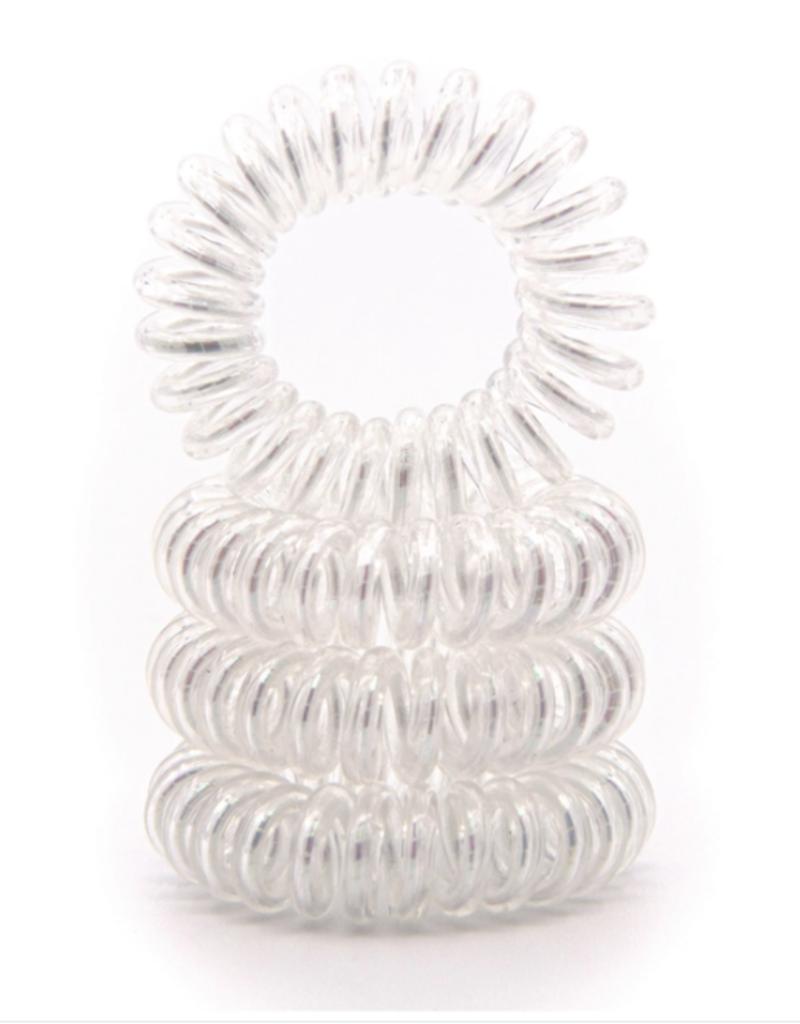 GummiBand GummiBand Hair Cord Box 4 Metallic White