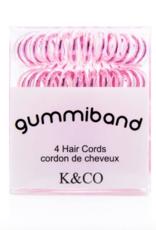 GummiBand GummiBand Hair Cord Box 4 Metallic Blush