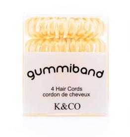 GummiBand GummiBand Hair Cord Box 4 Blonde