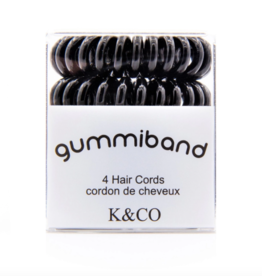 GummiBand GummiBand Hair Cord Box 4 Black