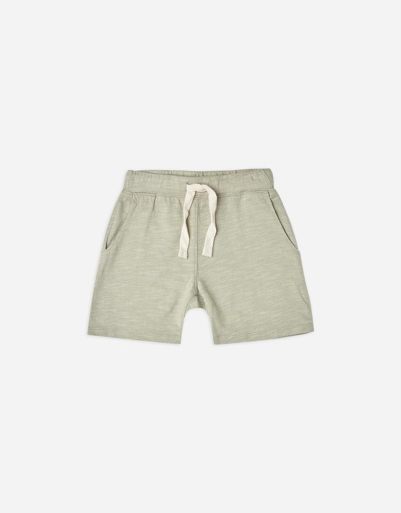 Rylee & Cru Boys Slub Shorts Sage