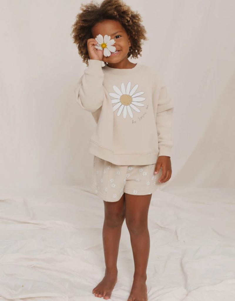 Rylee & Cru Daisy Love Boxy Pullover