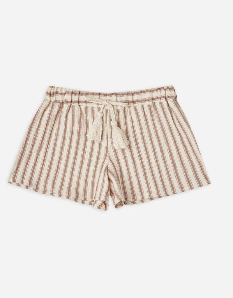 Rylee & Cru Striped Solana Shorts