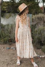 Rylee & Cru Garden Birds Ivy Smocked Dress