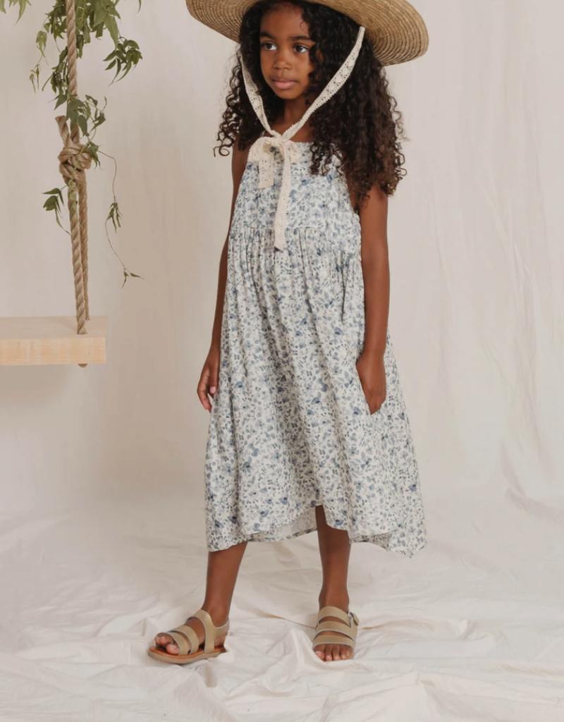 Rylee & Cru Blue Floral Ava Dress