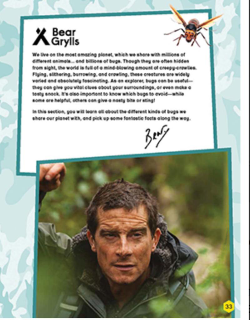 Usborne Bear Grylls, Wild Animals Activity Book