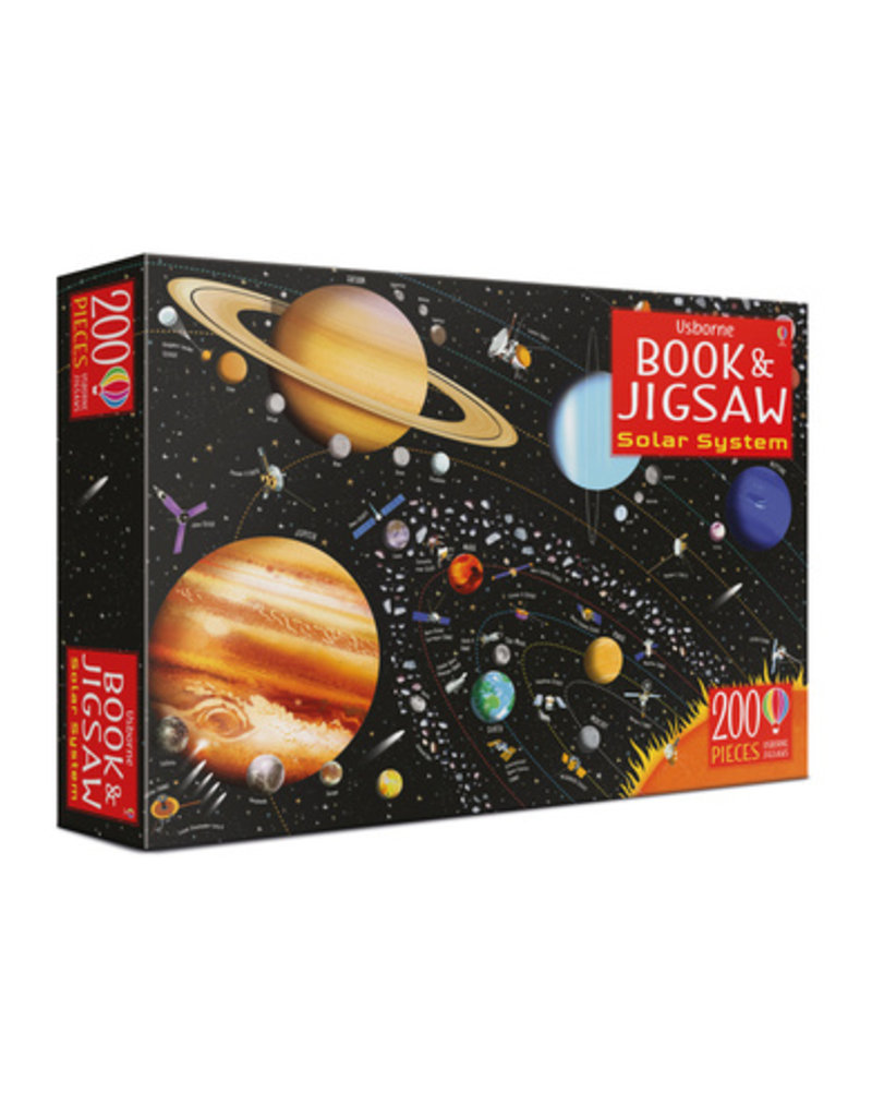 Usborne Solar System - Book & Jigsaw Puzzle