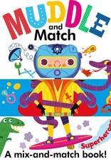 Usborne Muddle and Match, Superheroes