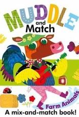 Usborne Muddle and Match: Farm Animals