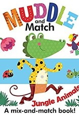 Usborne Muddle and Match, Jungle Animals