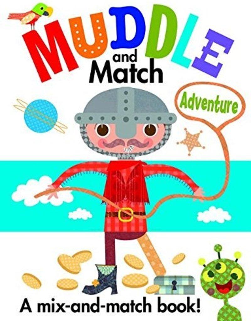 Usborne Muddle and Match Adventure