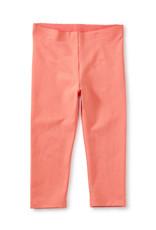 Tea Collection Solid Capri Leggings Sunset Pink