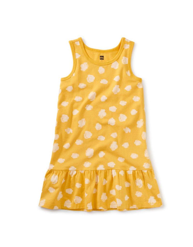 Tea Collection Tank Dress Ink Polka Dots