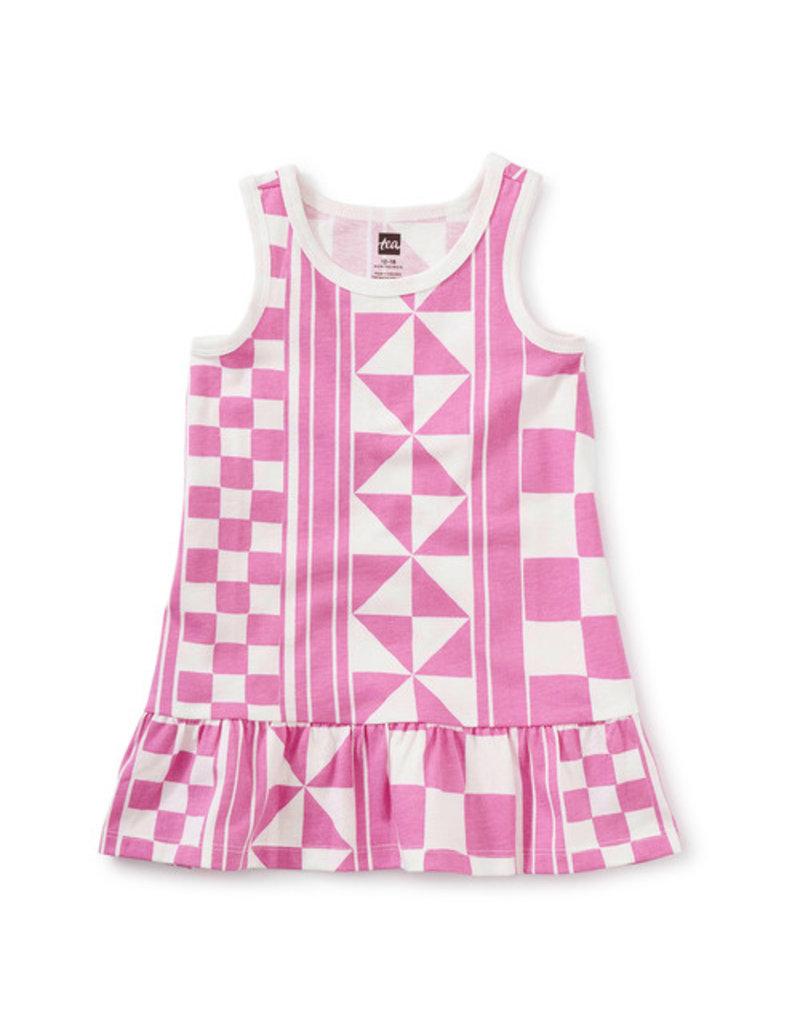 Tea Collection Tank Baby Dress Mosaic
