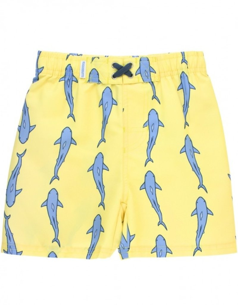 Ruffle Butts Jawsome Swim Trunks