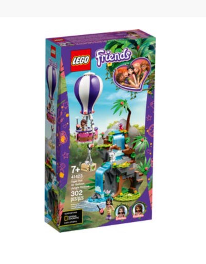 Lego Tiger Hot Air Balloon Jungle Rescue 41423