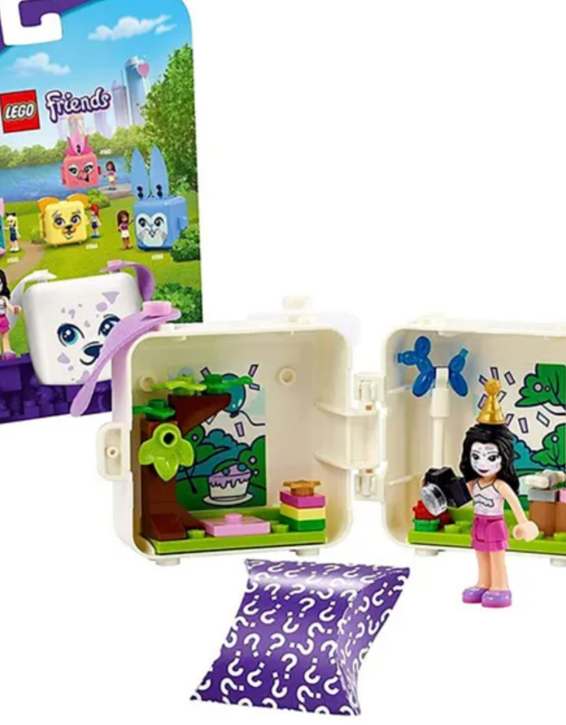 Lego Emmas Dalmation Cube 41663