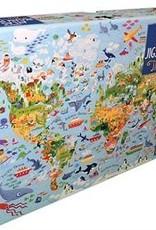 Usborne The World Atlas & Jigsaw Puzzle