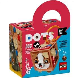 Lego Bag Tag Dog