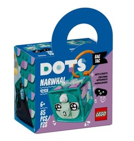 Lego Bag Tag Narwhal 41928