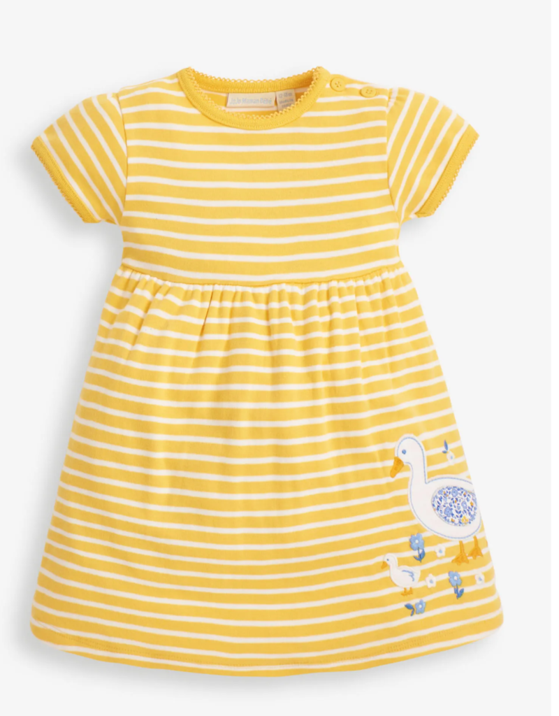 JoJo Maman BeBe Duck Applique Dress