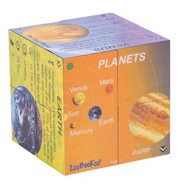 BigJigs Toys Cubebook Planets and Solar System Stats