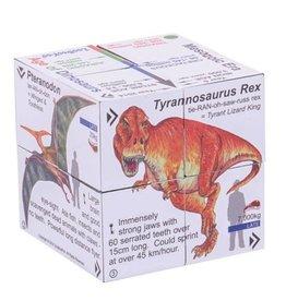 BigJigs Toys Cubebook Dinosaurs
