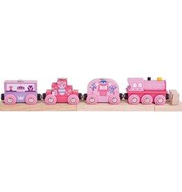 BigJigs Toys Princess Train