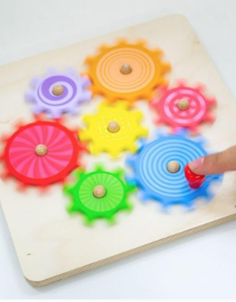 BigJigs Toys Cog Puzzle