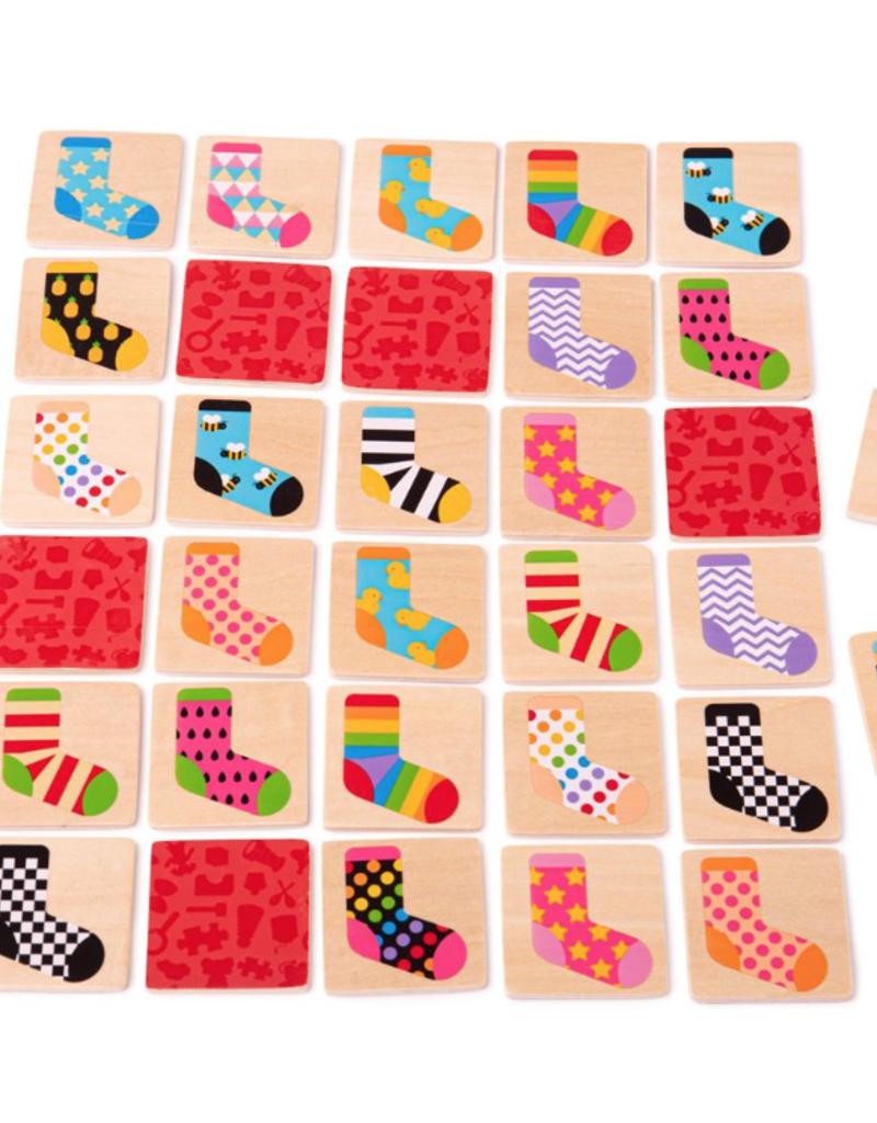 BigJigs Toys Sock Memory Game
