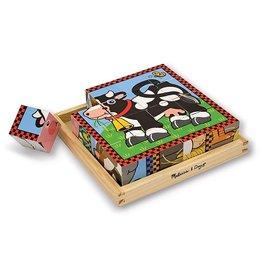 BigJigs Toys Cube Puzzle Farm