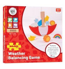 BigJigs Toys Weather Balancing Game