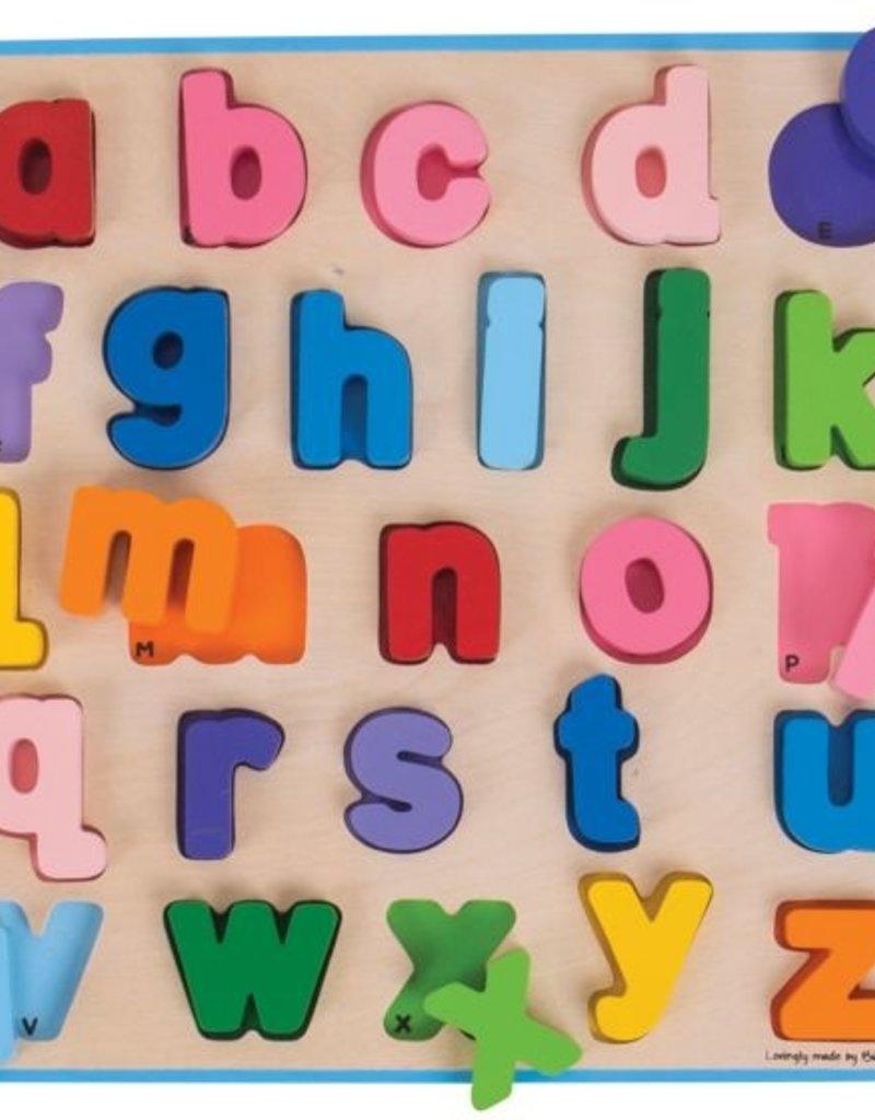 BigJigs Toys Chunky Alphabet Puzzle (Lowercase)