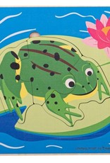 BigJigs Toys Lifecycle Layer Puzzle Frog