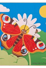 BigJigs Toys Lifecycle Layer Puzzle Butterfly