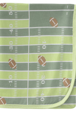 Kickee Pants Print Swaddle Football