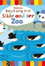 Usborne Baby's Very First Slide and See Zoo