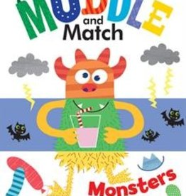 Usborne Muddle and Match, Monsters
